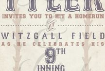 Batter Up - Baseball Party! / by Luc & Lilah Events