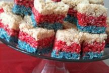 Red, White and Blue / by Emily Kline