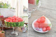 Pretty food display / by Kelle Giordano