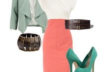 office outfit ideas / cute work outfit insperation. / by Stephanie Gutknecht