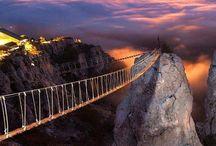 Bridges / Spectacular bridges around the world / by Jim Davidson