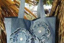Hand-made from denim / by Jolanta Maria
