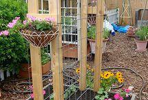 Unique garden ideas / by Suzanne Lyons