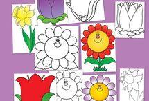dibujos plantilla niños / by silvia