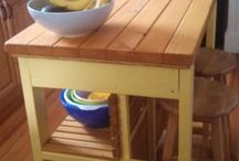 kitchen islands / by Theresa Broom