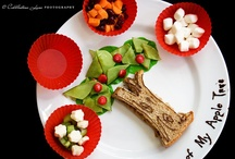 Bento / Lots of Pictures of Cute Lunch Ideas, Food Fun, Bento, and Muffin Tin Meals. / by Crystal Abel @ Eccentric Eclectic Woman