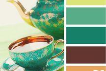 Colour combos / by Germaine Lenn
