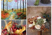 Wedding Ideas / My fall, autumn wedding October 2014 / by Kate Telofski