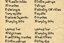 I Be Up in the Gym Workin on My Fitness / by Tiffany Wyne