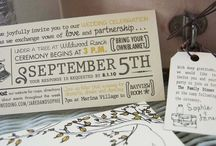 Invitations + More / Invitations, Programs and Wedding Printables. / by Creative Flowers Inc | Petal and Bean
