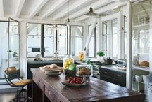 Home: Kitchen's  / Dream kitchens of all styles. For more inspiring things, visit lifestylefilesblog.com. / by Carrie Hampton | LifestylefilesBlog