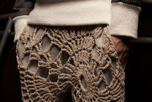 Crochet In The Fashion World / by Jackie @AmidorableCrochet