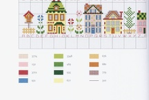 cross stitch charts / by Denise Craig-Lewis