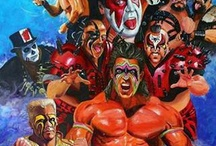 Classic Wrestling Art / by Mike Brown