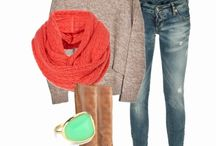 Fall-Winter Outfit Bits / Ideas for fall/winter wardrobe  / by K. Poarch