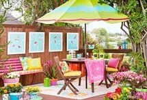 For the Backyard (Outside decorating) / by Jennifer Rico