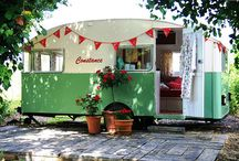 Love the vintage campers! / by Robyn Kauffman