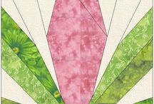 Paper Piecing Patterns / by Tricia Harvey