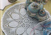 Doilies Crocheted / by Meliss Eckhardt