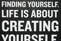 life quotes / by Bonnie Kaprelian- Bishop