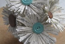 Upcycled Book Crafts / by Melissa McCleary