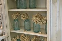 MASON JAR IDEAS / by Jeanne Stregles