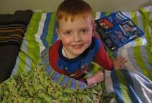 Sewing 4 kids {misc} / Toys, blankets, bedroom decor etc / by Leah Hazelton