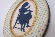 Embroidery & cross-stitch / by Ayelet Yotvat