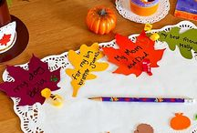 Thanksgiving Crafts, Decorating Ideas  / by Kathy Thompson