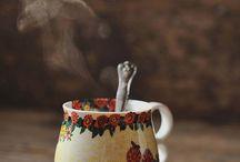 tea cups,cofee cups,mates. /  tea cups ,cofee cups,mates etc / by Lidia Maurette