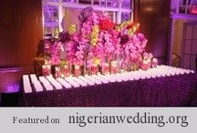 Escort Cards Table Arrangement... / In any wedding, there is a select group of details that we love to see and one of them is an escort table, which I think would be nice to see at every Nigerian wedding. I know on top of all the other elements that make up a fabulous wedding this is one more to add on the list, but it's well worth it and will make for a great experience. Your escort card table and your escort cards are one of the first things your guests will see at your reception, and they can set the mood for the evening! / by Nigerian Wedding