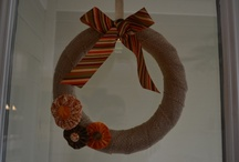 Wreaths / by Shara from Palmettos and Pigtails