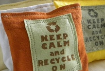 """Recycle, Upcycle -- Ingenuity / My grandmother taught me """"waste not, want not.""""  I always try to reuse and recycle.  I am amazed at the ingenuity of folks worldwide who are upcycling and recycling.  I love it when the beat goes on!!!  / by Judy Wright of JudithGayleDesigns"""