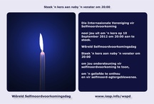 World Suicide Prevention Day 2012 Light a Candle Near a Window at 8 PM / Find World Suicide Prevention Day Light a Candle Near a Window at 8 PM postcards in various languages. These cards can be printed out for mailing or can be sent by email or used on Web sites.  Light a Candle Near a Window at 8 PM page http://tinyurl.com/6r35bwg / by IASP