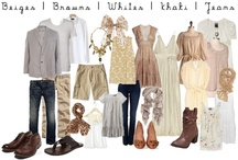 Photos - What to wear / Inspiration for what to where for a photo shoot. / by Lydia Woosley