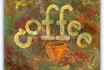 Coffee cup art / Design / by Tara Collins