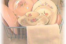 vintage dishes / Beautiful to behold / by jesma archibald