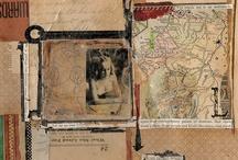 collage/mixed media inspiration / by Mavis Negroni