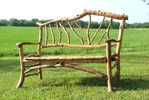 Neat Outside Benches / by Sharon Johnson