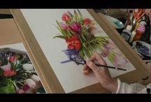 Watercolor tutorials / by Lynnette Bailey
