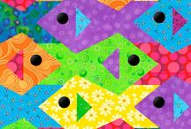 Quilts: Paper-Pieced / by Pat Smith