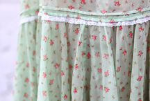 She Wears Skirts / The feminine art of feeling pretty requires a skirt as it's uniform.  / by Traci Combs