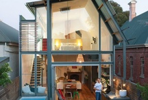 Modern additions / Modern additions on old home  / by Zachary Schneider