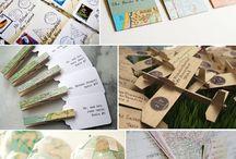 Travel Theme Wedding / Ideas for a stylish - not cliche - travel themed wedding. / by Laura Kiernan {JourneyChic.com}