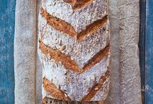 Baked (bread, pan, panne)  / by Milagros García