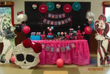 Keep Calm and Throw a Monster High Birthday Party / by Meggan Aston