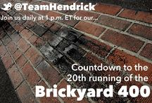 Countdown to the #Brickyard400 / In honor of the 20th running of the Brickyard 400 at Indianapolis Motor Speedway, we're taking a look through #HendrickHeritage at Indy. / by Hendrick Motorsports