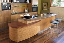 Bamboo Kitchen Cabinets / Bamboo Kitchen Cabinets, Awareness about the environment is being raised everywhere from TV programs to school books. This concern about the ecosystem is justified because modern living made a noticeable effect on the global environment. Responsibility can start conquering you to help, but how will your start? You can begin with eco-friendly bamboo kitchen cabinets demonstrated in the photos below! / by kitchen designs 2014 - kitchen ideas 2014 .