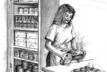 CANNING & Food storage / by Margaret Hurta