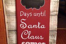 Wooden Blocks - Christmas / by Nancy Terrell